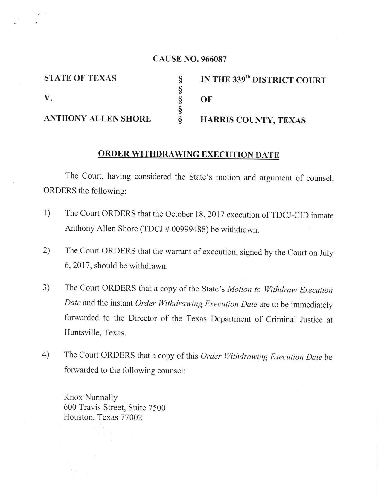 court order 1